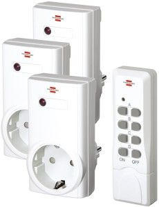 Brennenstuhl Comfort RCS 1000N Funkschalt Set